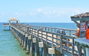 Fishing Pier in Naples