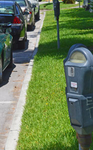 Parking meter in Naples