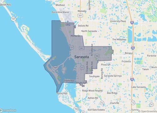 Area Map Sarasota