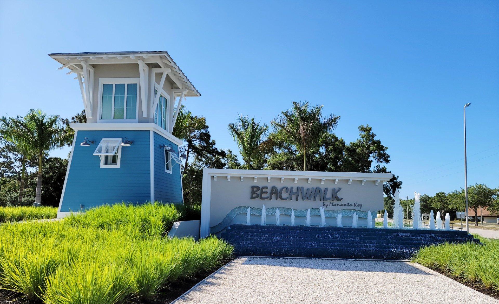 Entrance at BeachWalk