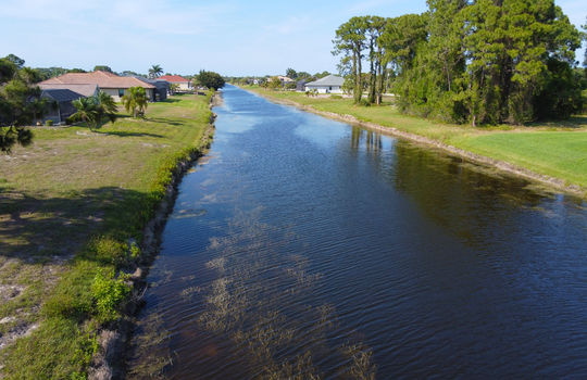 Canal Front Lot in Rotonda West Pine Valley