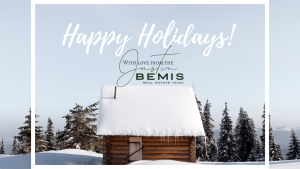 Happy Holidays from the Justin Bemis Real Estate Team