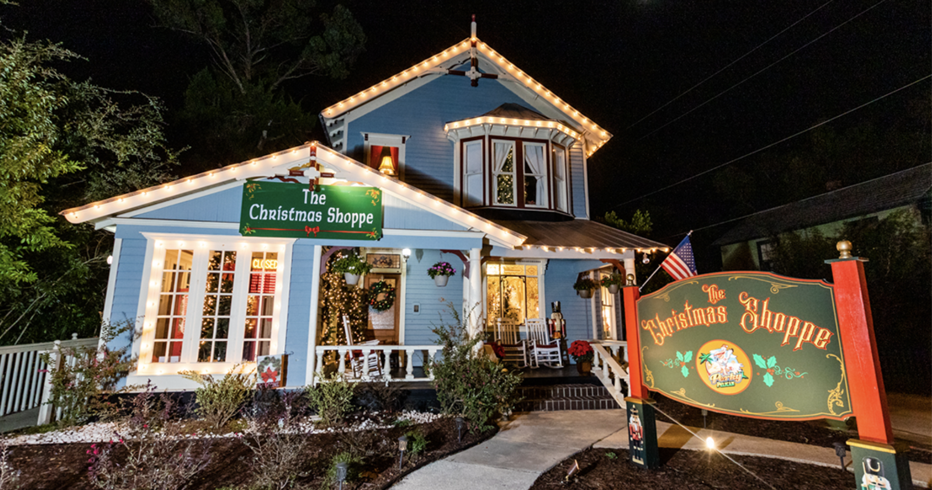 THE HOLIDAYS ARE IN FULL SWING AT THE CHRISTMAS SHOPPE