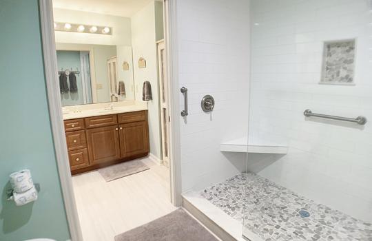 Master Bathroom Open Concept