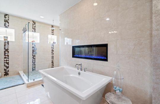36-Master Bath Tub and Shower
