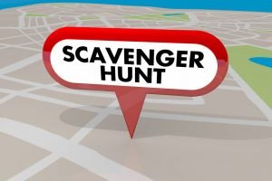 Scavenger Hunt in Long Beach