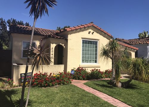 Wrigley area of Long Beach Spanish home