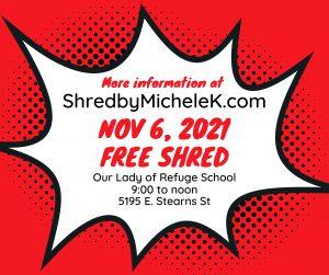Michele K's Free Document Shredding event