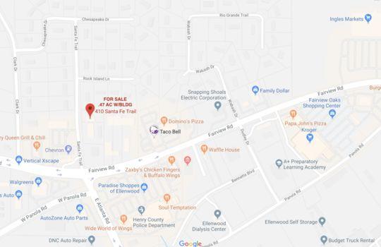 410 Santa Fe Trl Aerial Rd Map