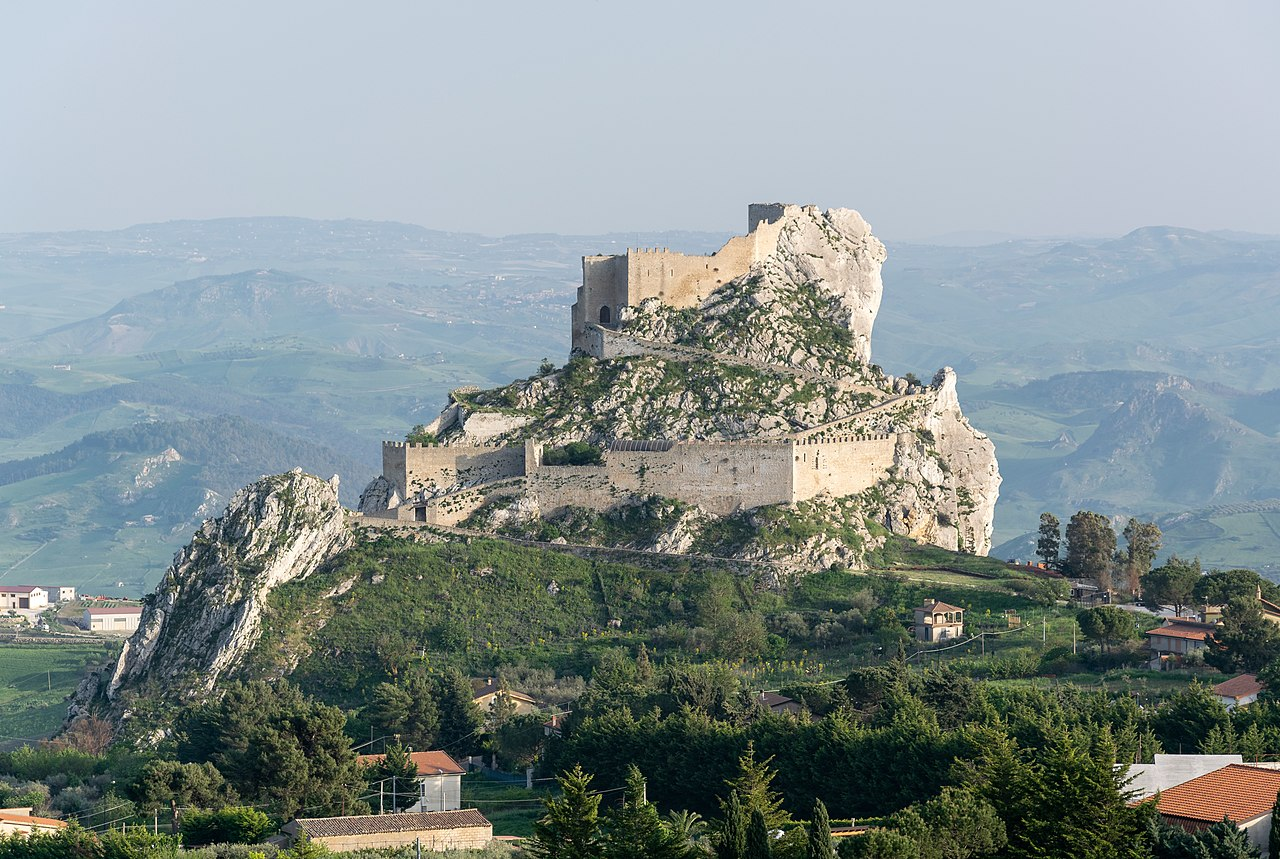 The Castle of Mussomeli