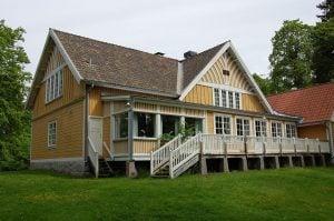 The socialite house at Sätra brunn