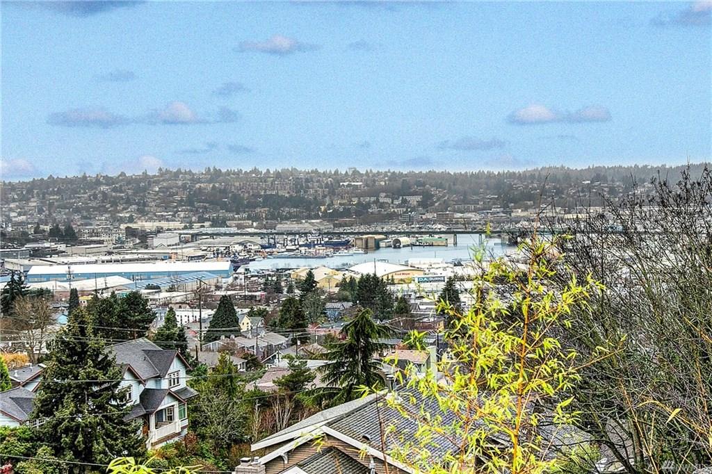 A view of Magnolia and the Ballard Bridge