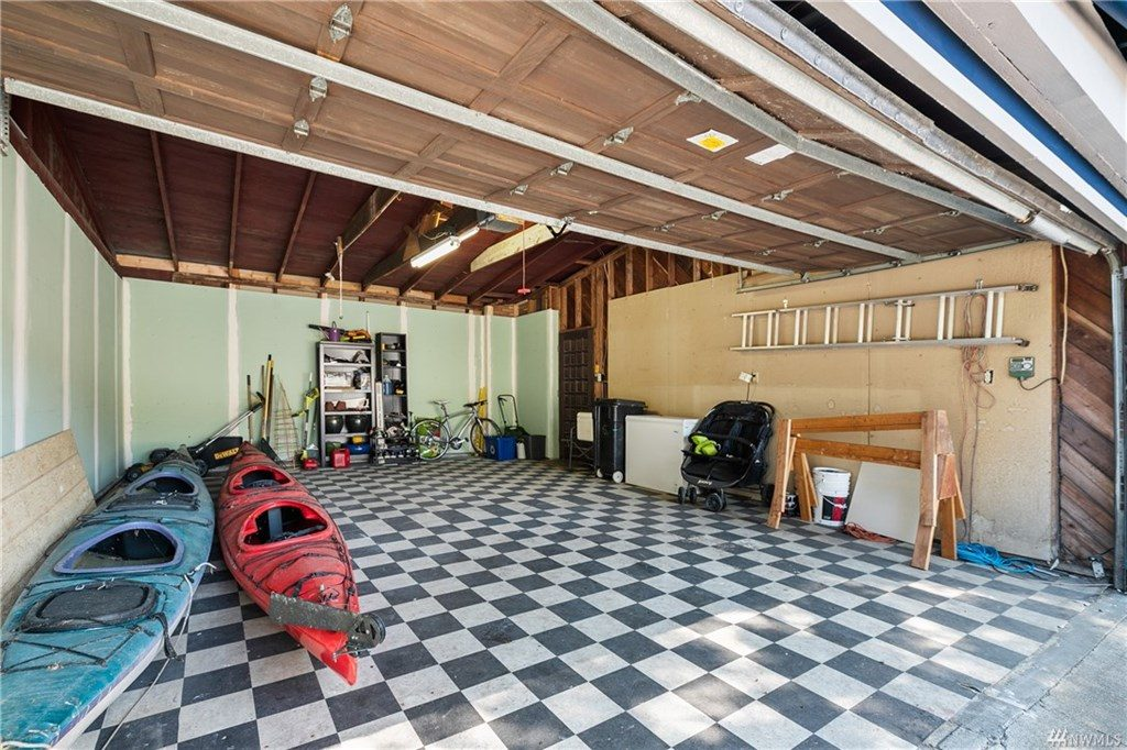 Garage of the Lake Forest Park home