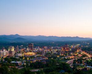Asheville at Dusk