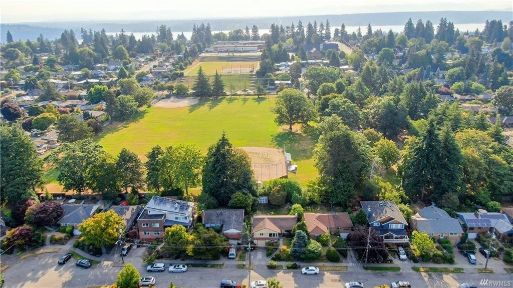 Aerial View of View Ridge Playfield