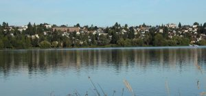 Phinney Ridge looking from Green Lake