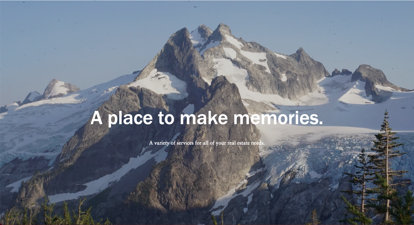 A place to make memories