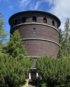 Exterior of the Volunteer Park Water Tower