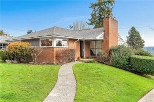 Midcentury Home in Seward Park, Seattle