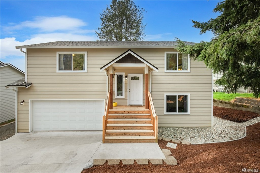 The front of the Bremerton home