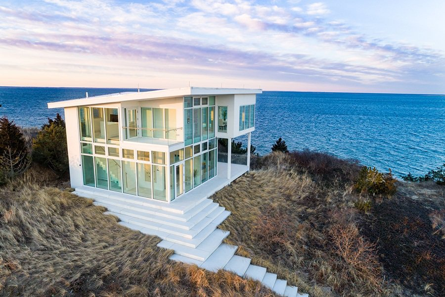 Home Tour: Glass House on Cape Cod