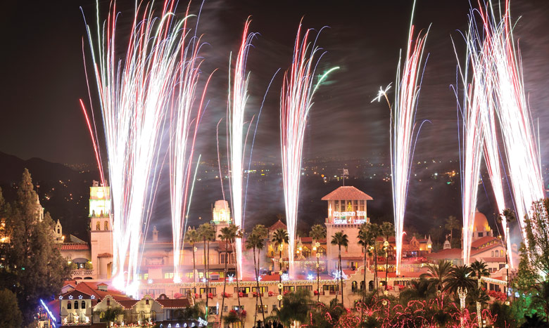 Mission Inn Hotel & Spa Festival of Lights –  24th Annual – Riverside, CA