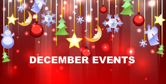 INLAND EMPIRE CALENDAR OF EVENTS – DECEMBER 2016