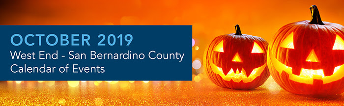 Inland Empire ~ Calendar of Events ~ October 2019
