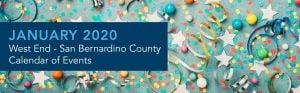 December 2019 Inland Empire Calendar of Events