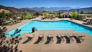 Rosena Ranch Pool Area