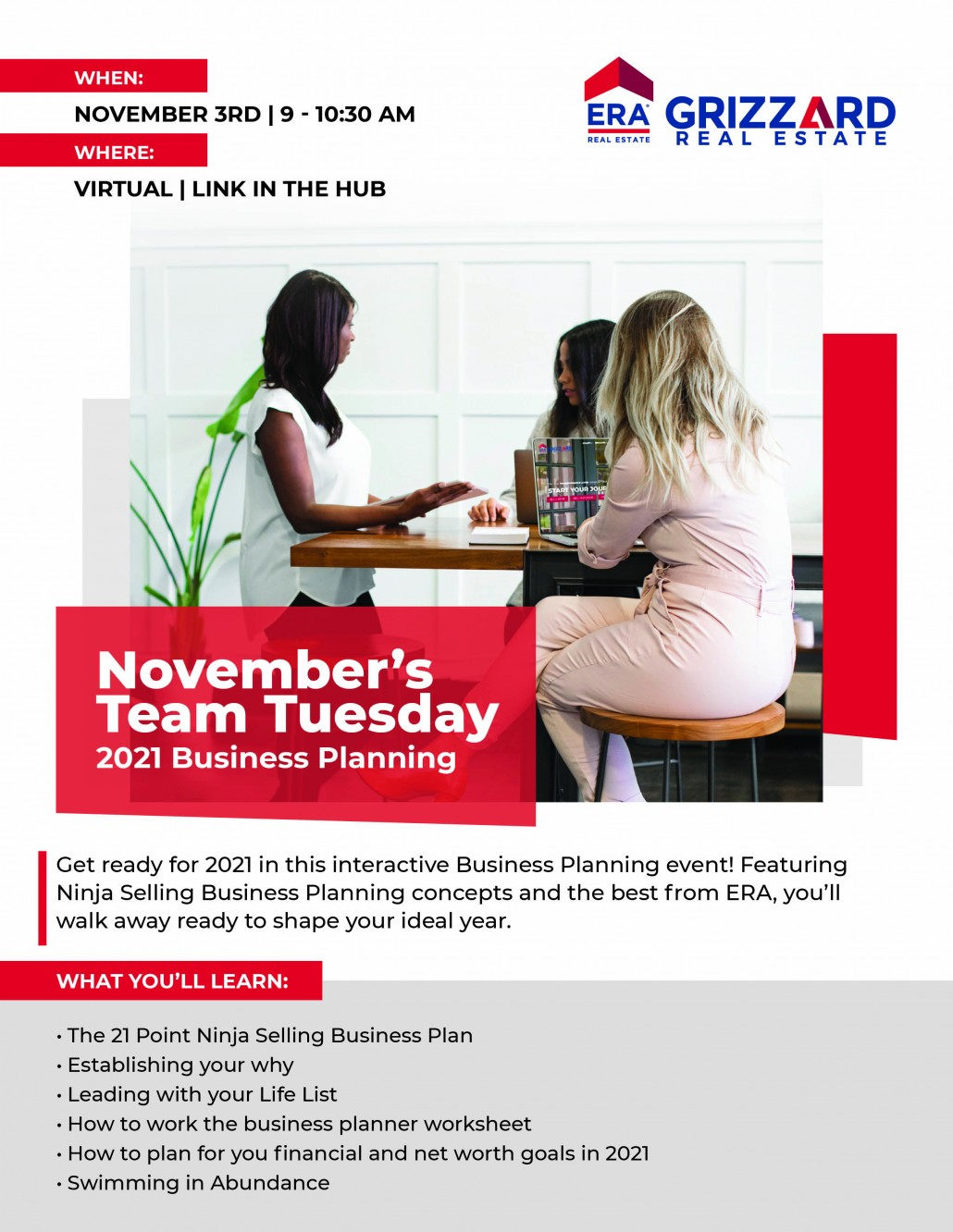 November Team Tuesday: 2021 Business Planning