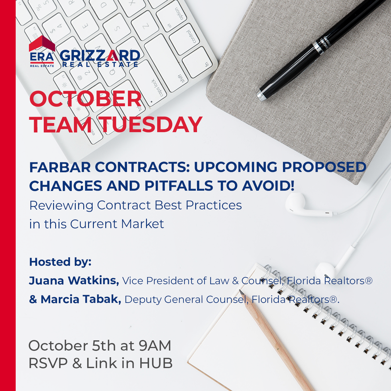 October Team Tuesday: FARBAR CONTRACTS: Upcoming proposed changes and pitfalls to avoid!!