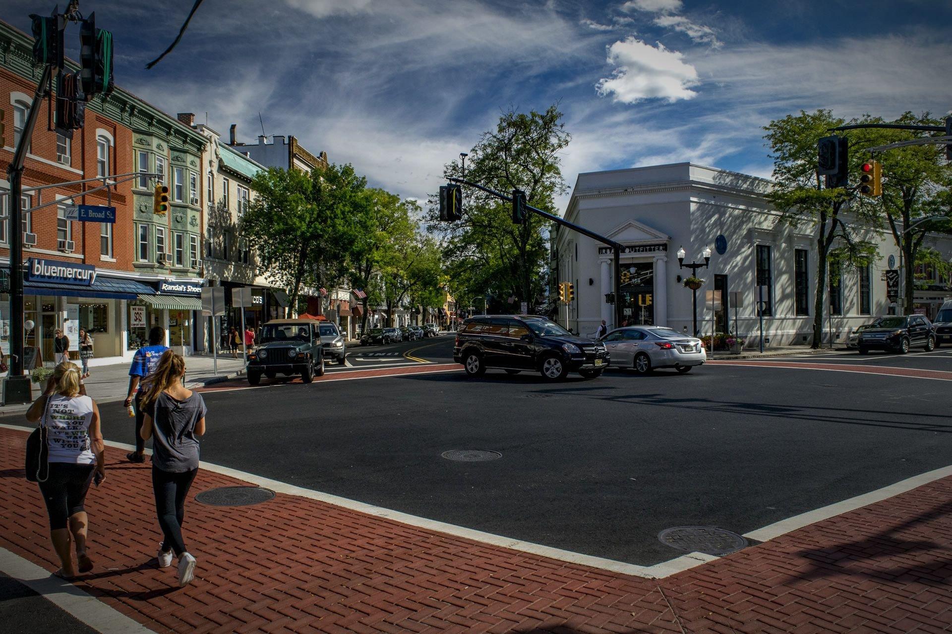 Downtown Westfield NJ