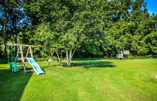 River Meadows Backyard