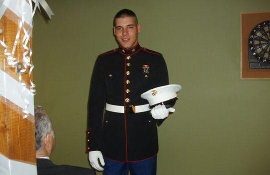 Ammon USMC dress