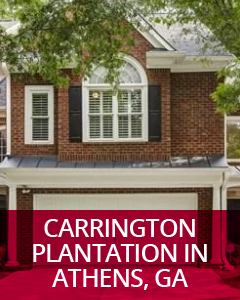 Carrington Plantation in Athens, GA Community Guide