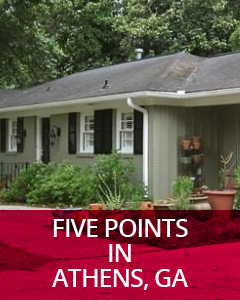 Five Points in Athens, GA Community Guide