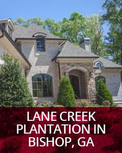 Lane Creek Plantation in Bishop, GA Community Guide