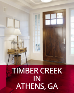 Timber Creek in Athens, GA Community Guide