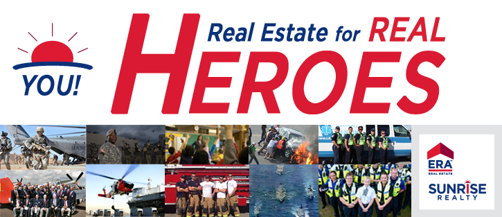Real Estate for Real Heroes Program at ERA Sunrise Realty