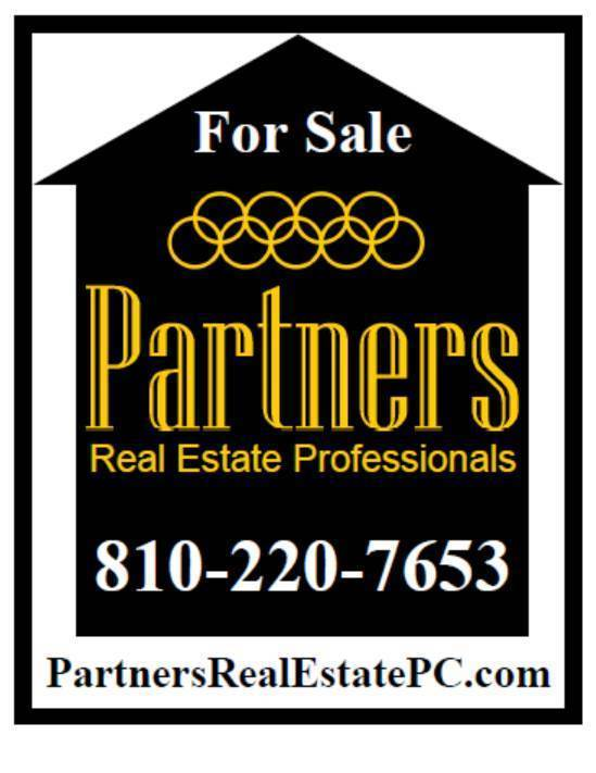 Partners Real Estate Sign