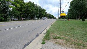 road frontage 5468 E Grand River