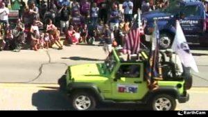 jeep at brighton mi parade
