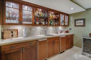 4462 Quebec Ln Lower Level Kitchen Bar
