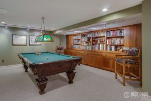 Pool Table at 4462 Quebec Ln