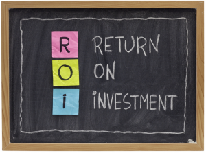 Return on Investment board