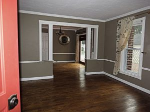 Interior of Spencer Rd brighton home for sale