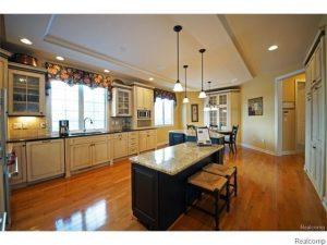 Kitchen in brighton mi home for sale