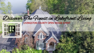 livingston county lakefront open house event