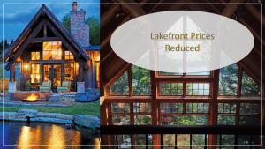 lakefront homes reduced